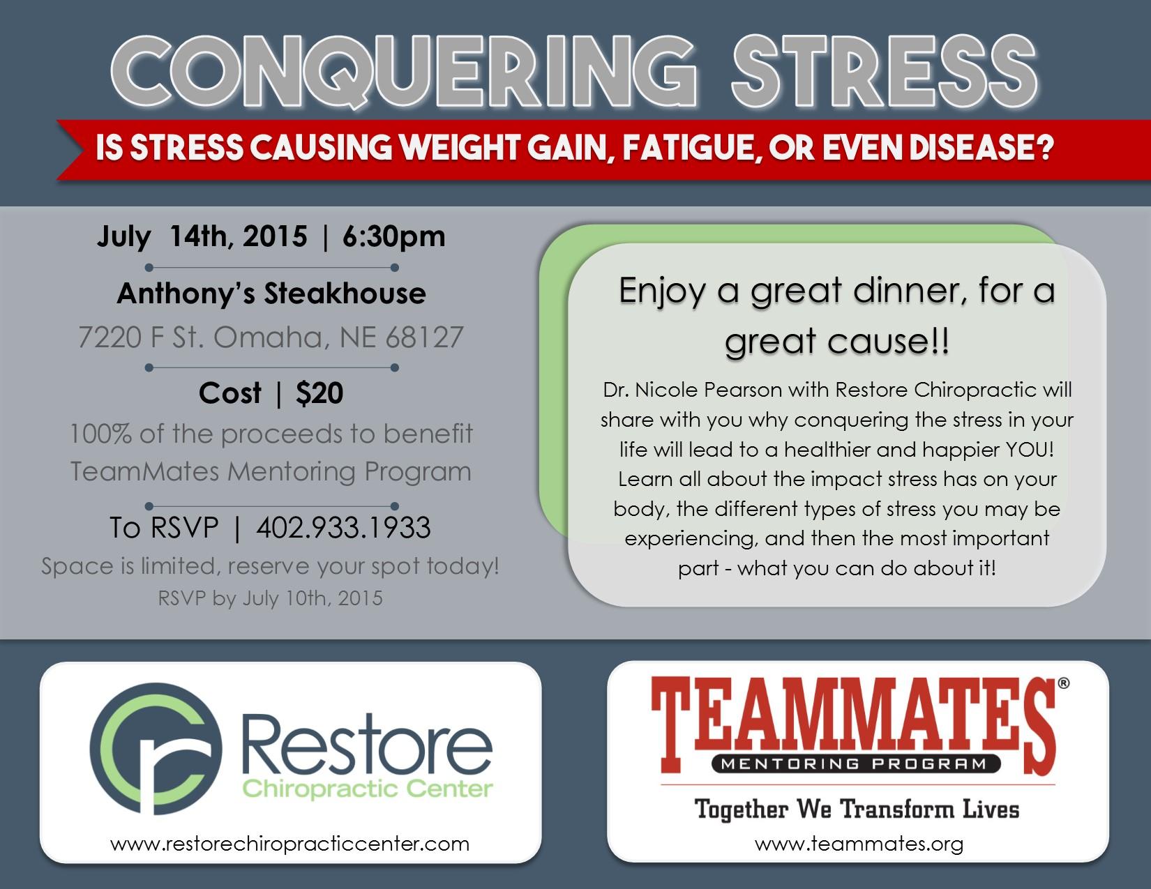 Stress Dinner Talk