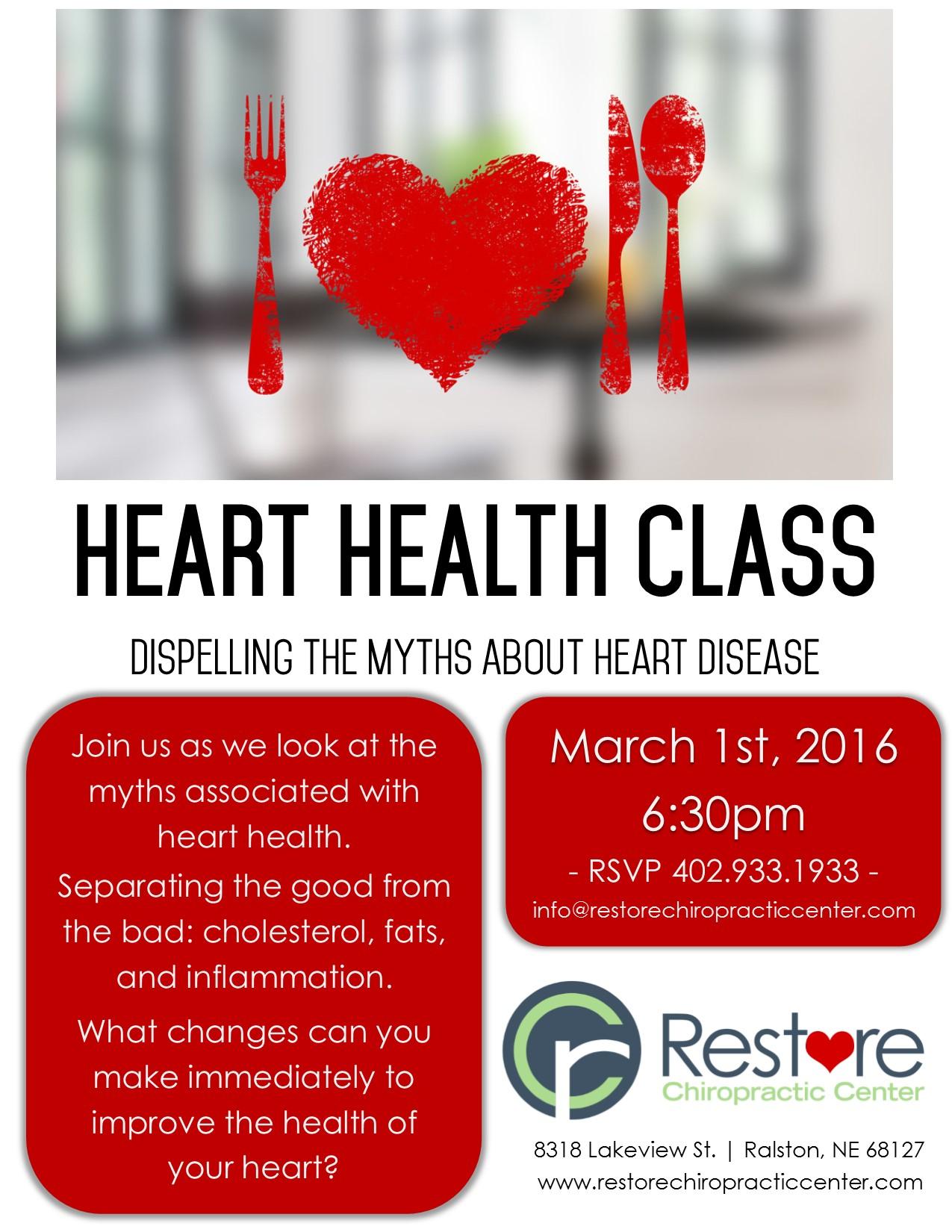 Heart Health Class 2016